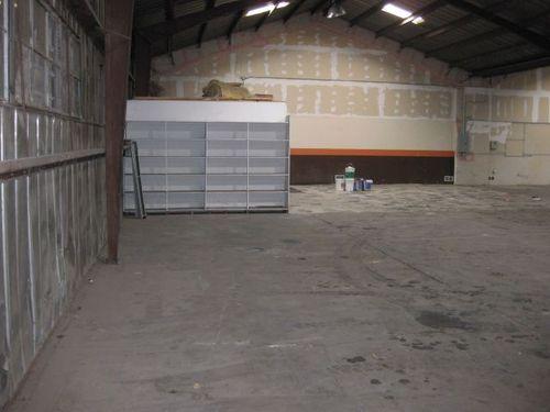 Inside Warehouse - natural light
