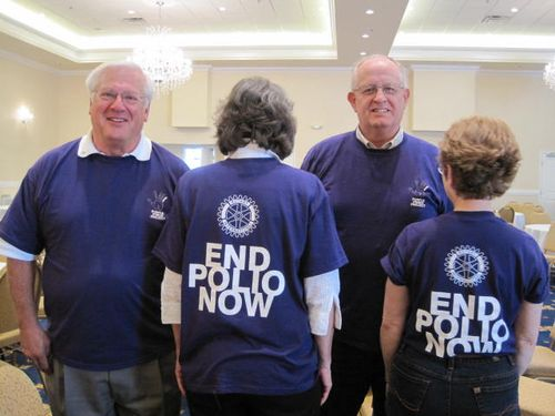 End Polio Now Shirts